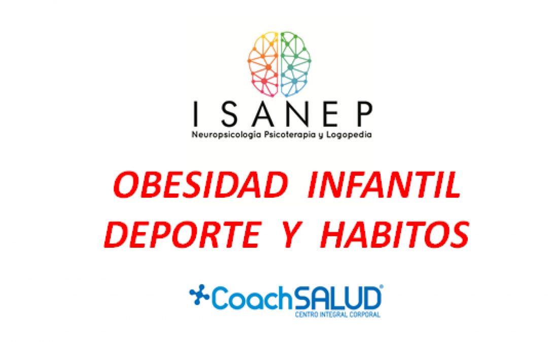Charla informativa sobre Obesidad Infantil, deporte y hábitos saludables