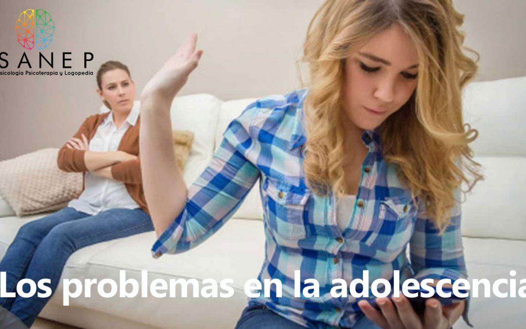 Los problemas en la adolescencia