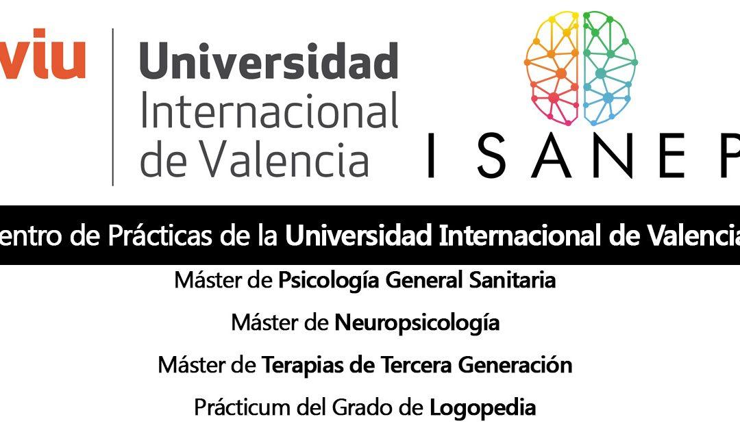 ISANEP Centro de prácticas de la VIU Universidad Internacional de Valencia