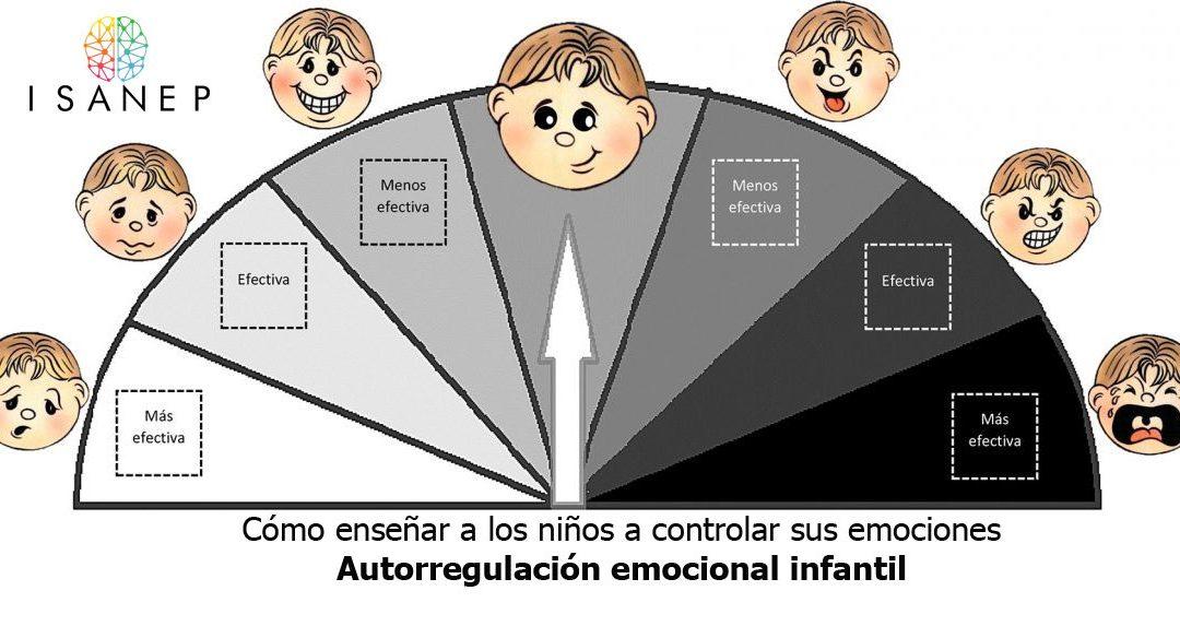 Cómo enseñar a los niños a controlar sus emociones