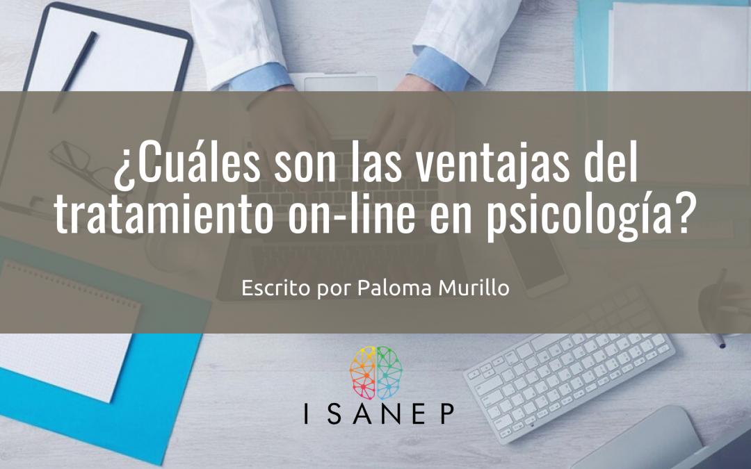¿Cuáles son las ventajas del tratamiento on-line en psicología?