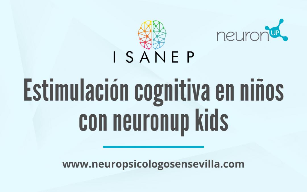 Estimulación cognitiva en niños con neuronup kids