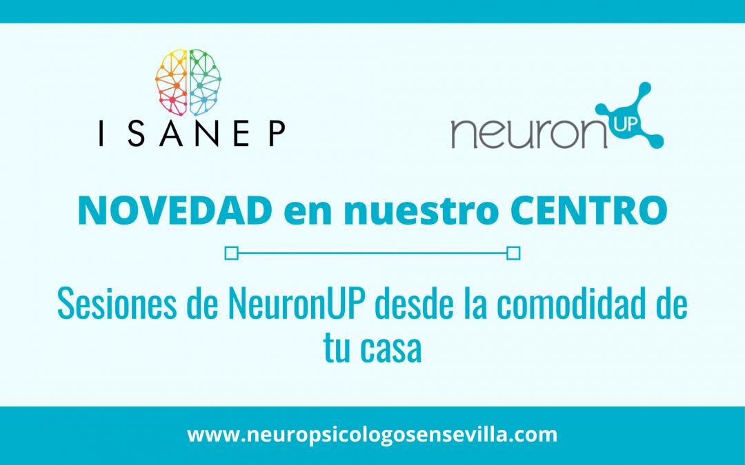 Sesiones de NeuronUP desde la comodidad de tu casa