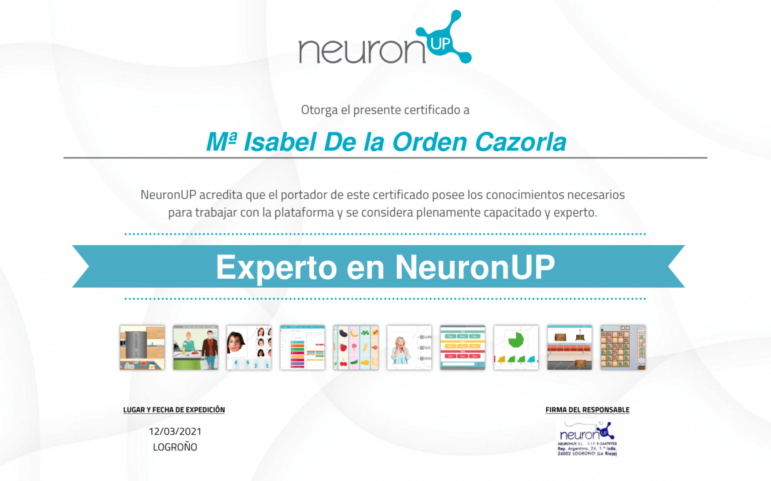 Experto en NeuronUP